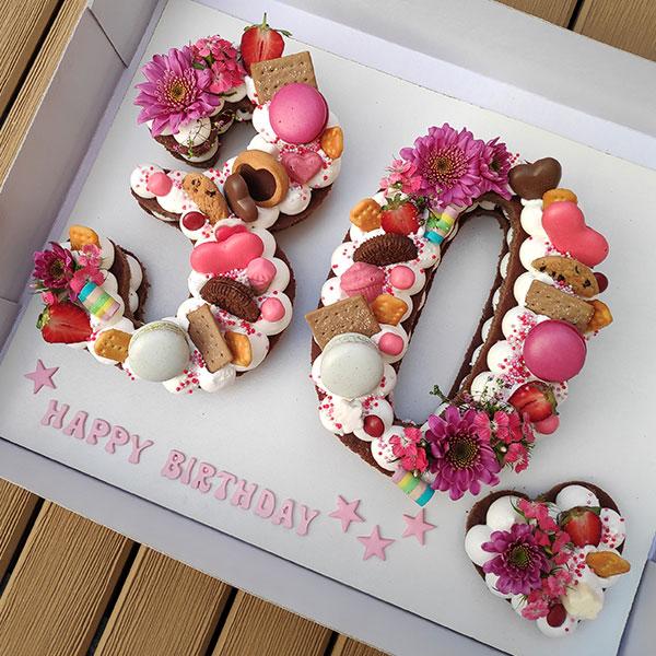 کیک عدد