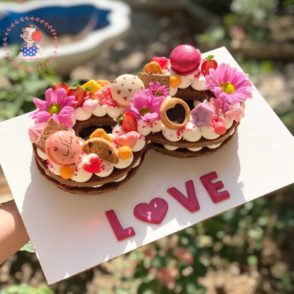 کیک تولد عشق بی نهایت