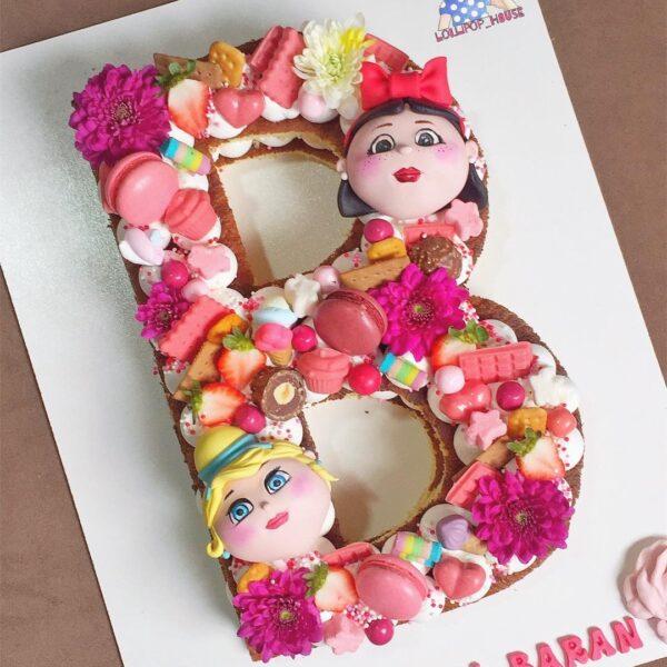 کیک عروسکی