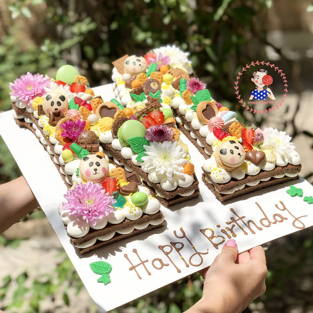 کیک پاندایی