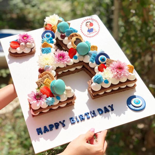 کیک تولد چشم نظر