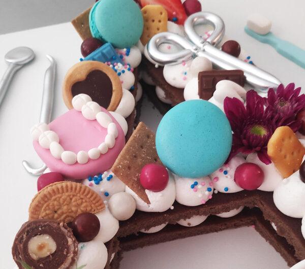 کیک تولد تم دندانپزشک
