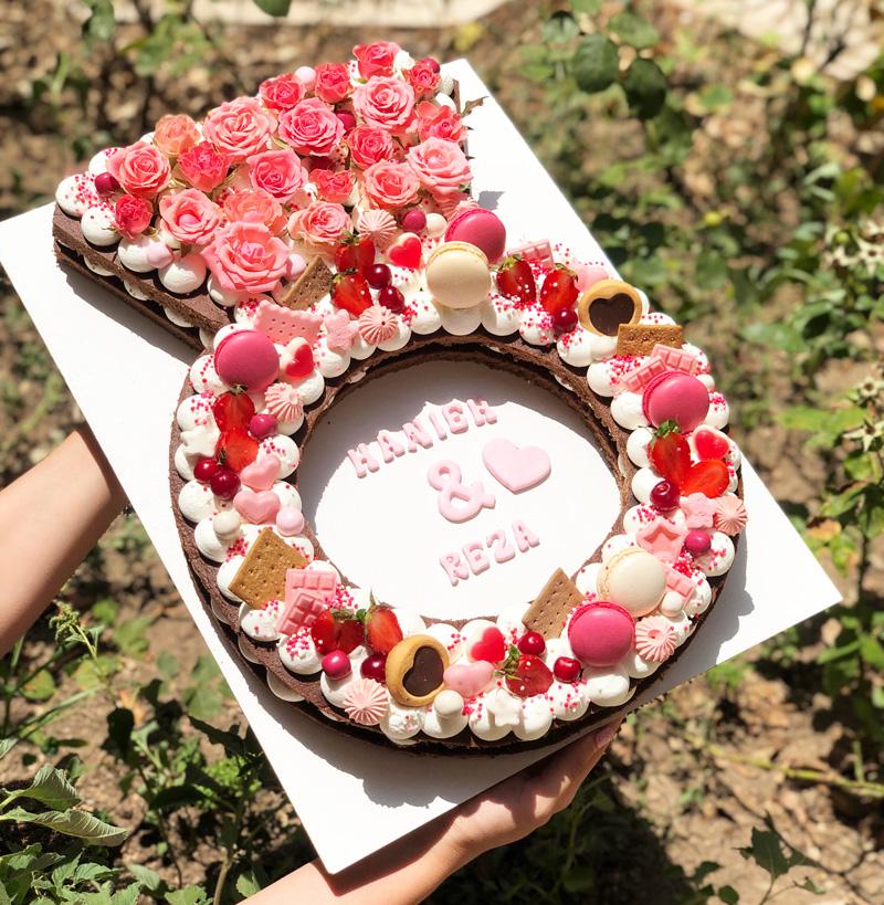 کیک سابله حلقه