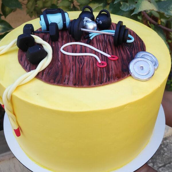 کیک ورزشکار