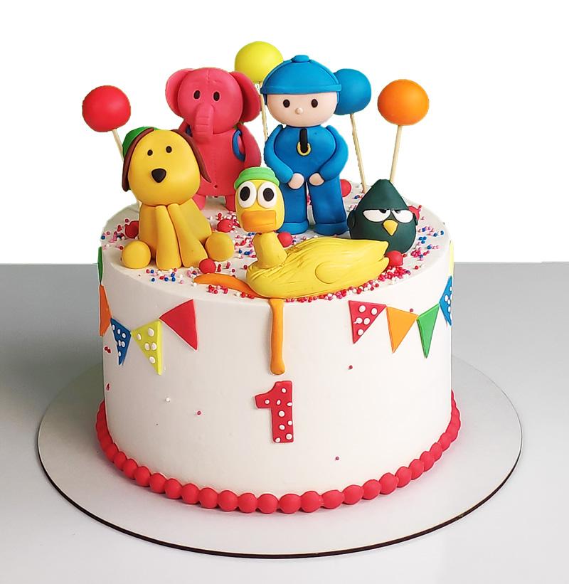 کیک تولد پوکویو