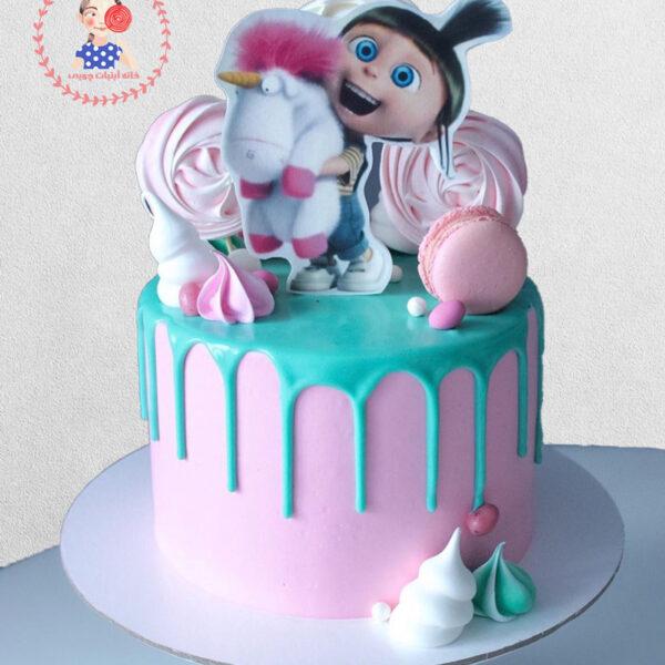 کیک دختر کوچولوی شگفت انگیز