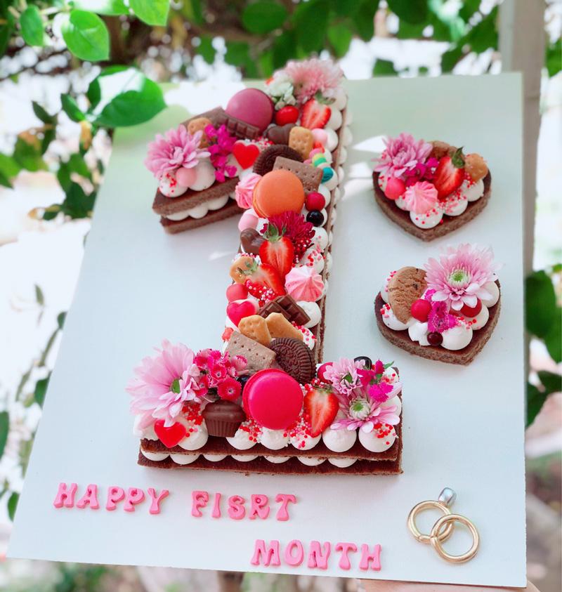 کیک تولد عدد ۱