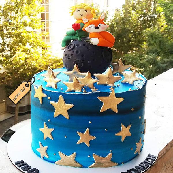 کیک خامه ای شازده کوچولو