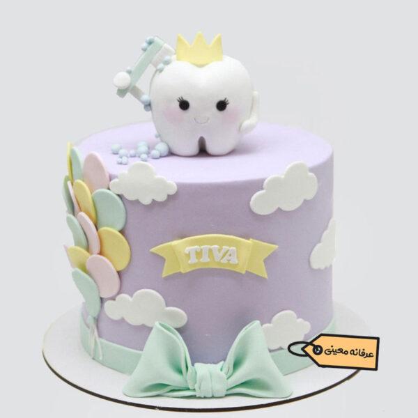 کیک تولد دندونی اجرا قناد معینی