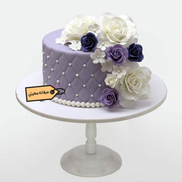 کیک زیبای گل گلی