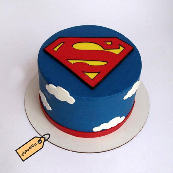 کیک سوپر من زیبا از قناد عرفانه معینی