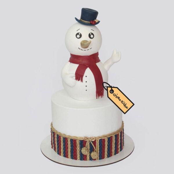 کیک آدم برفی قناد معینی