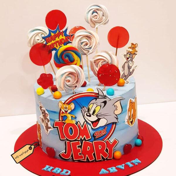 کیک تام و جری مریم ادیب زاده