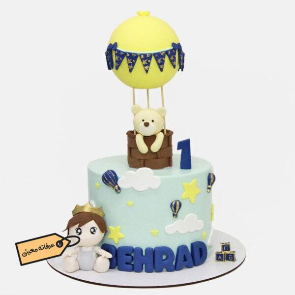 کیک تولد خرس و شاهزاده اجرا توسط خانم معینی