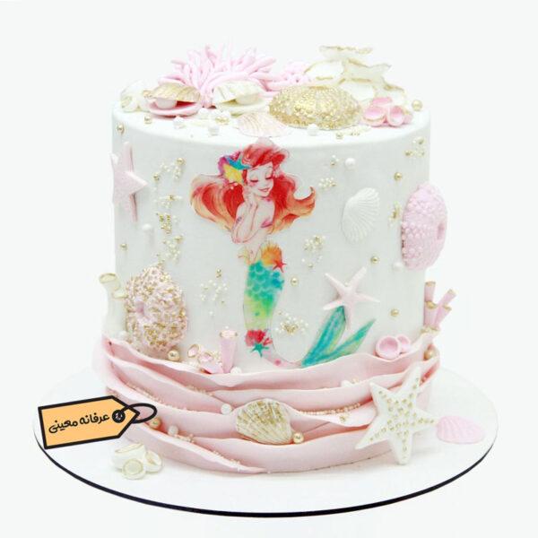 کیک پری دریایی خانم معینی
