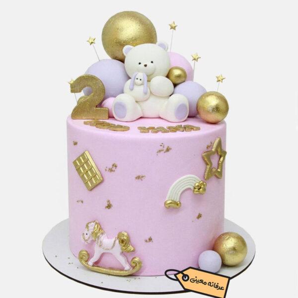 کیک خرس مهربون قناد معینی