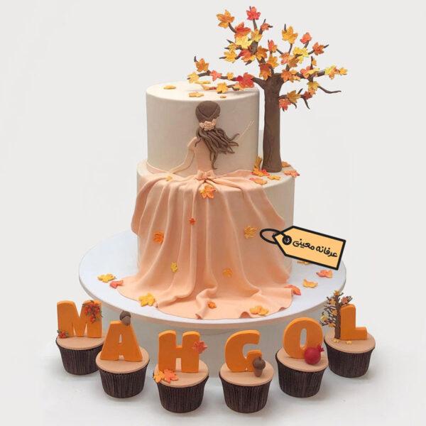 کیک دخترانه واییزی اجرا توسط خانم معینی