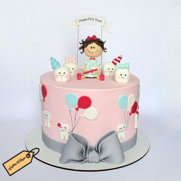 کیک دندونی فوق العاده زیبا خانم معینی