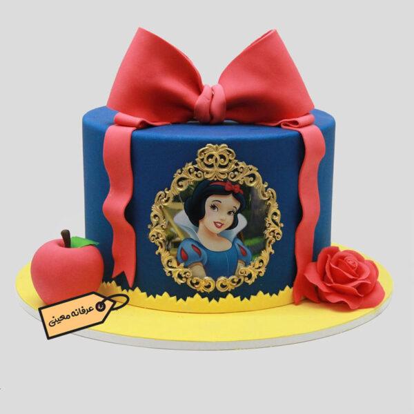 کیک سفید برفی خانم معینی