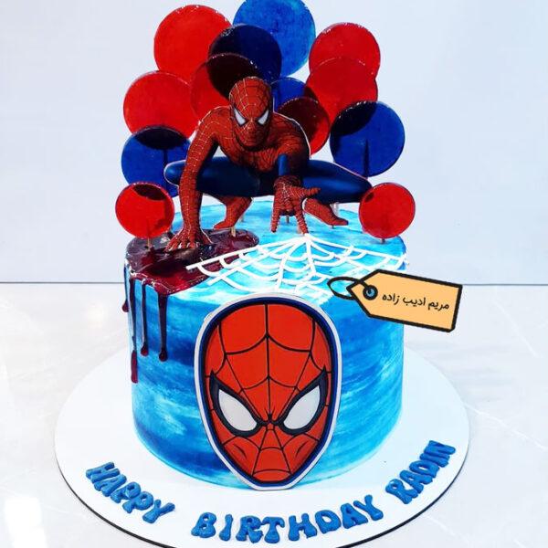 کیک مرد انکبوتی پاپ آرتی