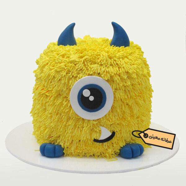 کیک هیولا خانم معینی