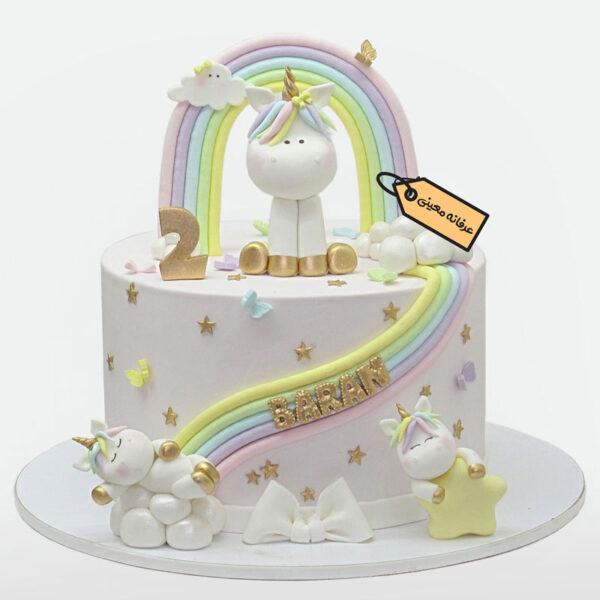کیک یونی کرن قناد معینی