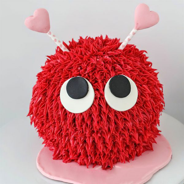 کیک خامه ای پشمک عشقولانه
